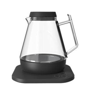 τηλεχειριζόμενος βραστήρας νερού allocacoc μαύρο χρώμα για καφέ, τσάι