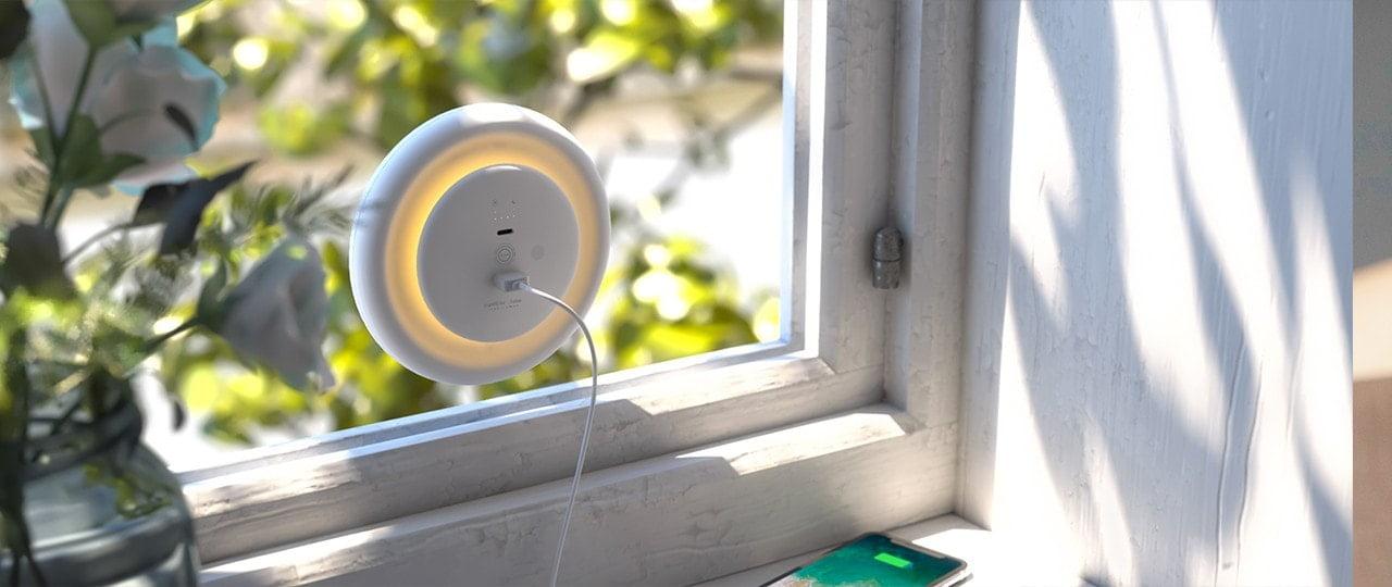 φωτακι νυκτος allocacoc led eco friendly ηλιακη ενργεια