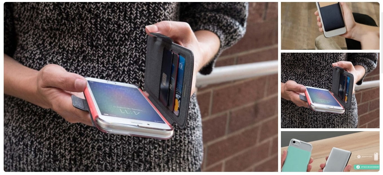 Mophie®Hold Force Gradient Base πολύ λεπτή Μαγνητική θήκη προστασίας – για Apple iPhone 8/7 Plus