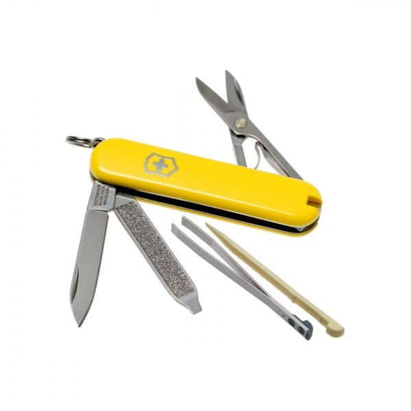 victorinox sd classic yellow geekers