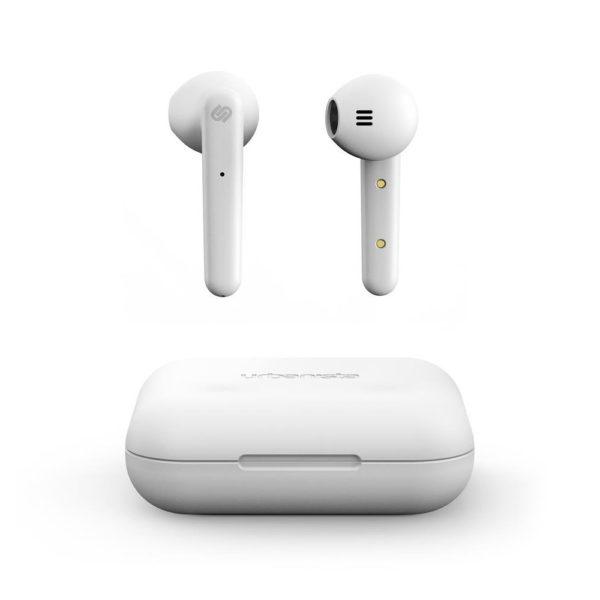 ασυρματα ακουστικα earbuds wireless urbanista stockholm λευκα