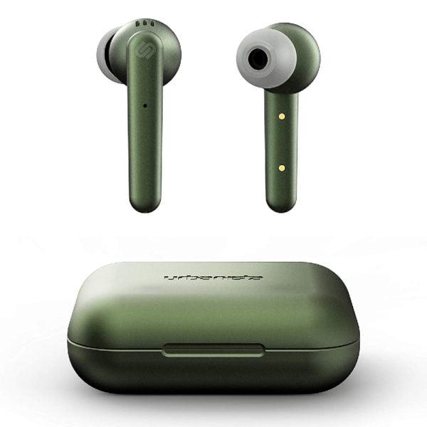 ασυρματα ακουστικα earbuds wireless urbanista paris πρασινο olive green