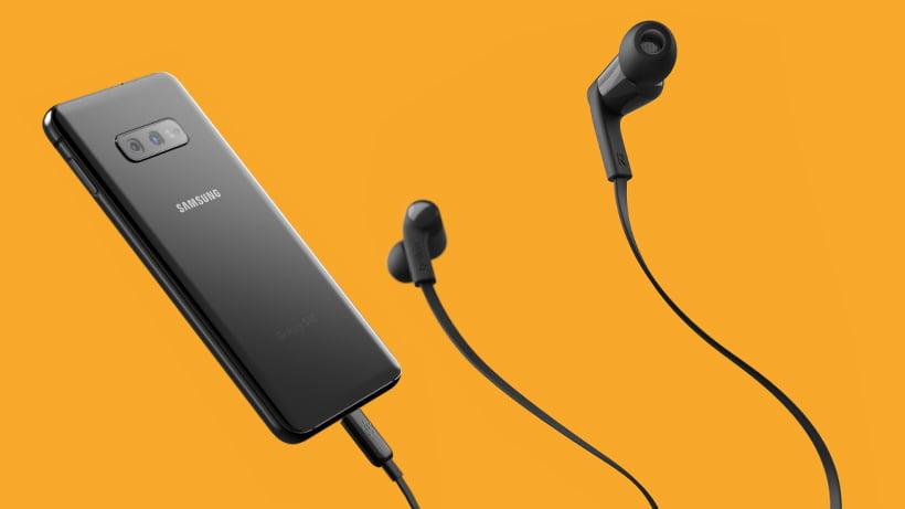 belkin ακουστικά με υποδοχή type-c χρώμα μαυρο
