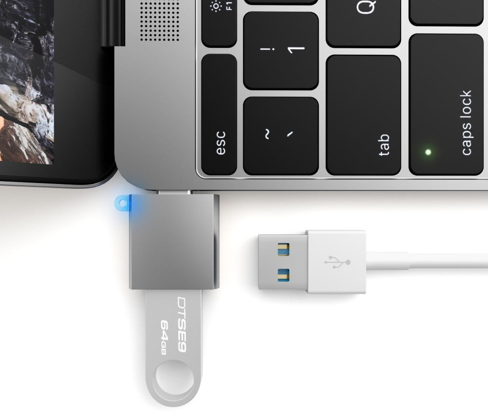 USB-C σε USB-Α