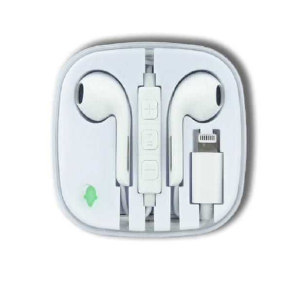 green mouse ακουστικα lightning βυσμα για iPhone
